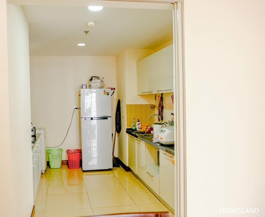 Không gian bếp - căn hộ 2 ngủ toà R5